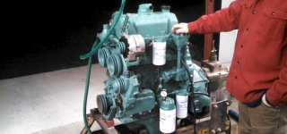 Detroit Diesel 3-Cylinder 3-53T Engine Runs Flawlessly!