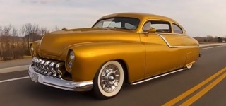 1949 Custom Mercury LeadSled Metal Flake Hot Rod!