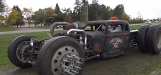 Cummins Twin Turbo Diesel 1934 Dodge Rat Rod!