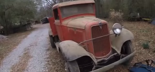A True Barn Find: 1934 Ford Truck That Had Been in a Barn For Over 30 Years Now Deserves a Good Treat