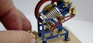 Awesome Mini Flame Gulping Engine!