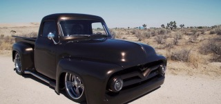 Lukasz Granicy Attended to SEMA Battle of the Builders with His 1955 Ford F100 Pickup Truck!