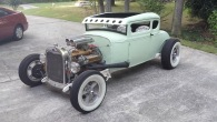1930 Ford Model A Coupe Hot Rod with Mint Paint is the Product of Hard-Working and Ingenuity