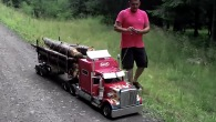 Hold my Beer and Watch This: Jaw-Droppingly Realistic Miniature Peterbilt Truck
