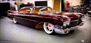 1960 Cadillac Convertible Copper Caddy by Kindig-It Design Changes the Definition of Beauty!