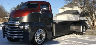 1953 Chevrolet COE Truck Looks Fantastic Even When It's Not Completed Yet!
