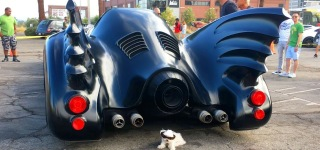 Comedian Jeff Dunham's Batmobile Used in Tim Burton's Batman Returns
