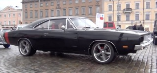 Legendary American Muscle Car 1969 Dodge Charger Sounds Unforgettably Sweet