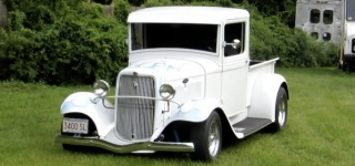 Real Deal: 1934 Henry Ford Pickup Truck with Gorgeous Details