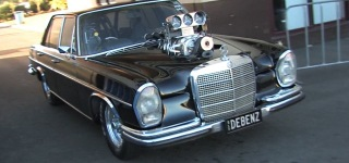 1969 Mercedes 280S Powered Supercharged V8 Small Block