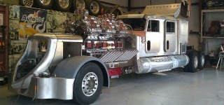"Supercharged 24 Cylinder ""Big Mike"" Detroit Diesel!"