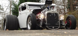 COUPEZILLA: Hot Rod - 7000 RPM Full Throttle Burnouts!