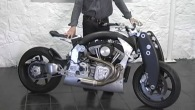 Ultra-rare Retro CUSTOM Confederate Wraith B120 Motorcycle