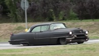 Extremely Charismatic Matte Black 1956 Cadillac Evil King!