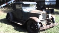 Absolute Vintage 1928 Buick Country Club Coupe Is Started For the First Time After More Than a Century