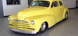 1948 Chevy Deluxe Street Rod Filmed in Detail from Inside Out