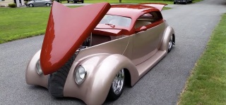 1937 Ford Street Rod is Brought to a Different Level in Beauty!