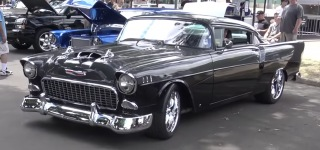 "Tri-Five Wutszad: ""567"" Custom Chevy That Combines 55' 56' and 57' Chevys"