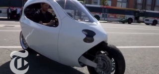 Self Balancing Electric Motorcycle of the Future!
