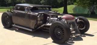 "One of a Kind Custom RAT ROD ""83 Dodge Ram 50"""