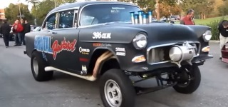The Brutal Bastard: Extra Charismatic V8 Powered 1955 Chevrolet Gasser