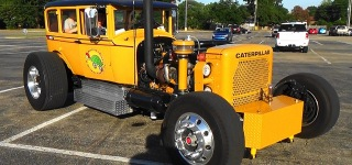 Pretty Awesome Caterpillar Hot Rod Cruisin' The Coast 2015