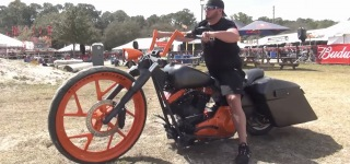 Daytona Bike Week - Battle of the Baggers