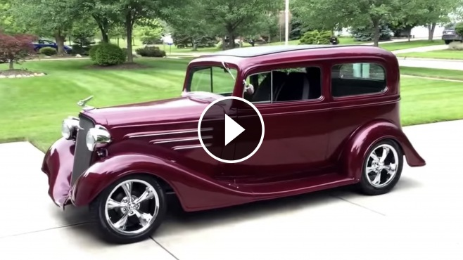 1934 Chevrolet Tudor Sedan Streetrod!