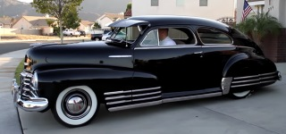 The Mechanic Beauty: 1948 Model Gorgeous Chevrolet Fleetline Aerosedan