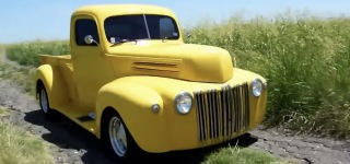 Very Unique 1946 Ford Texas Custom Half Ton Pickup Truck