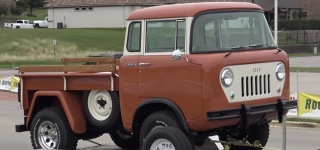 1959 Willys Jeep FC-150 4 Wheel Drive Truck Is the Fruit of 3000 Hours of Restoration!