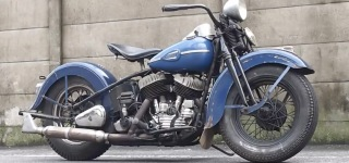 Well-Preserved 1941 Harley Davidson Flathead Not Only Looks Good But Also Sounds Good