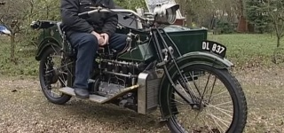 1912 Wilkinson Motorcycle Looks Stunning With Its Every Single Detail