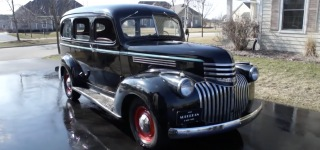 Simply Gorgeous 1946 Model Chevrolet Suburban Carryall