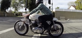 Dustin Kott's Latest Built: 1971 Honda CB750 Custom Cafe Racer!