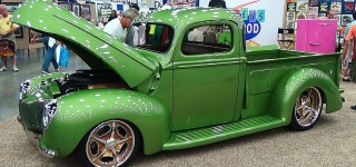 Gloriously Built 40 Ford Pickup at the 2015 NSRA Street Rod National