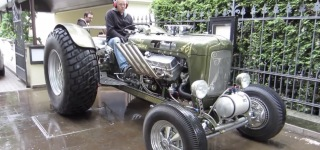 When Hot Rod is Love, Hot Rod is Life: Hot Rod Tractor from Germany