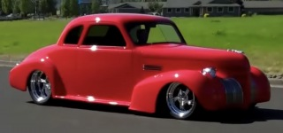 Big Block Powered 1939 Pontiac Coupe Street Rod is a Cute Street Monster