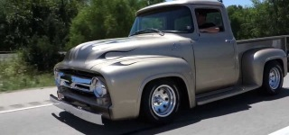 1956 Ford F-100 Hot Rod Pickup Looks Fantastic and Sounds Eargasmic!