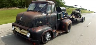 Billy Dawson's Exquisite 1955 Ford COE Rat Rod is the Dream Car for All Rat Rod Enthusiasts