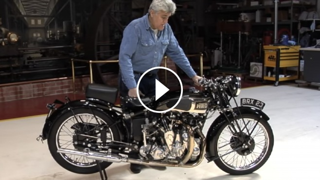 Classic Muscle Cars >> Jay Leno's Garage Presents 1939 Vincent HRD Series A Rapide Motorcycle