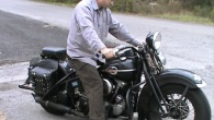 Kick Starting a 1946 Harley Davidson Knucklehead Has Never Been That Fun!