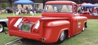 1957 Chevrolet Pro Street Truck with Outstandingly Fine Interior and Exterior Details