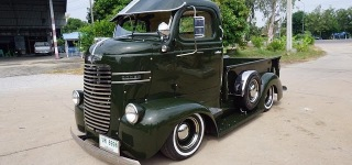 Splendid Beauty from Thailand: 1940 Dodge COE Truck by Burotang Service