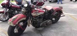 1948 Harley Davidson with Panhead Engine is Cooler Than Anything Else