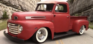 """Stepchild"": Nicely Treated 1951 Ford F1 Restomod in Close-Up"