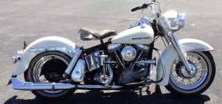 1963 Harley Davidson FL Panhead is Kickstarted in the First Try