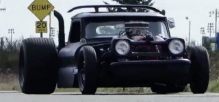 Amazing 1965 Chevrolet Chopped and Channeled Rat Rod!
