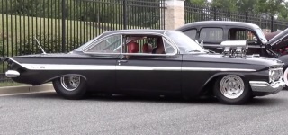 This 1961 Impala Pro Street Will Amaze You with Its Exclusive Details