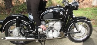 This Is How Exactly To Startup a 1969 BMW R69S Motorcycle